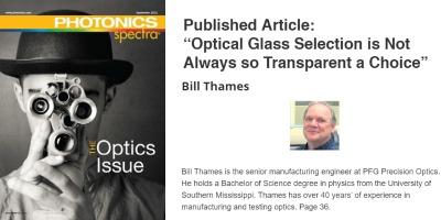 Optical Glass Selection Featured Image Bill Thames PFG Optics (1)